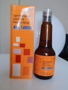 Buy apetamin syrup online